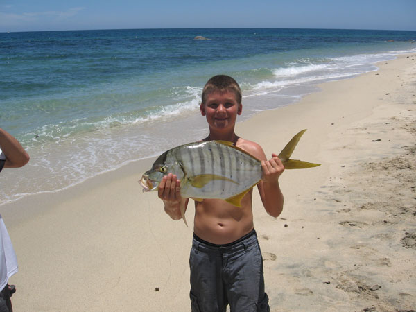 Eli with Pompano, Rancho Leonero June 2009